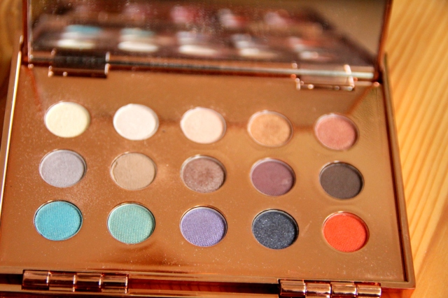 ane Iredale Glamour Palette, swatches, review